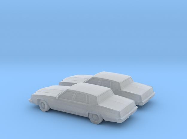 1/160 2X 1980 Buick Elektra Sedan in Smooth Fine Detail Plastic