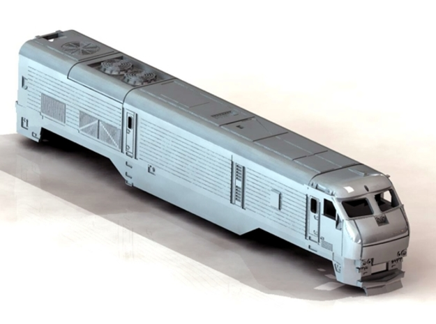 N Long Island EMD DE30  in Frosted Ultra Detail