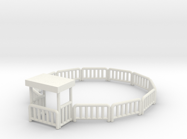 Bulgyfence in White Strong & Flexible