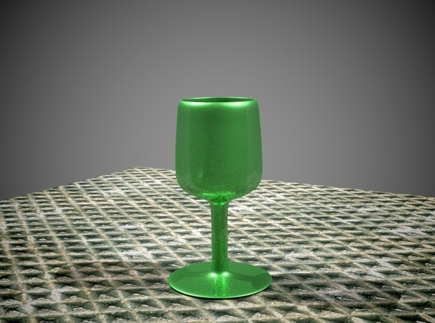 THE SILVER GOBLET in White Strong & Flexible
