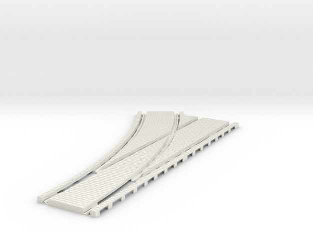 P-45st-tram-lh-point-200-1a in White Natural Versatile Plastic