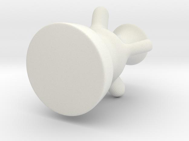 Vase 01 in White Strong & Flexible