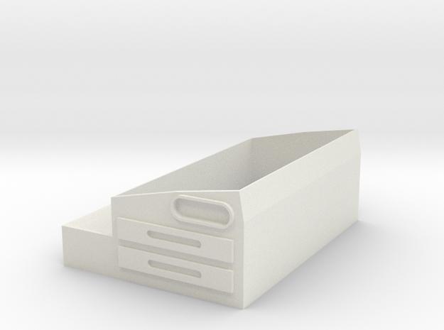 Base Sm30 Core in White Natural Versatile Plastic