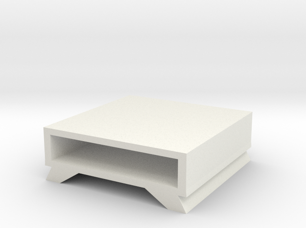 Table No. 10 in White Natural Versatile Plastic
