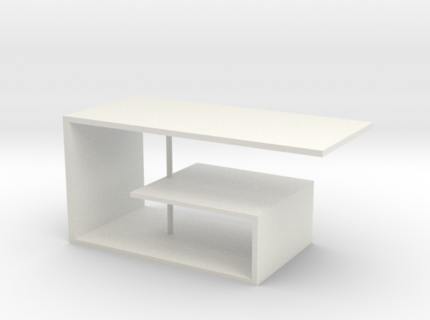 Table No. 9 in White Natural Versatile Plastic