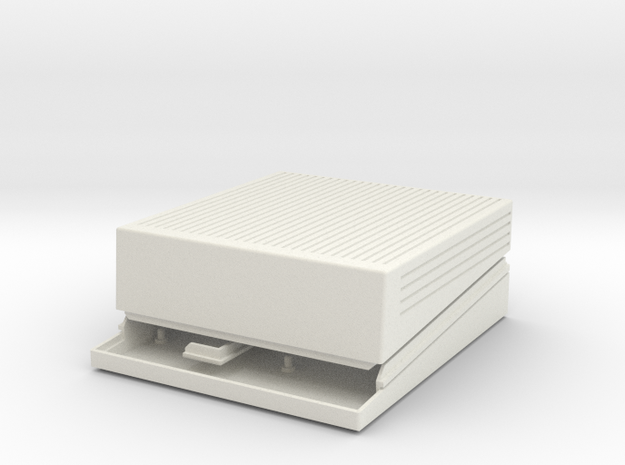Apple IIgs Raspberry Pi case in White Natural Versatile Plastic