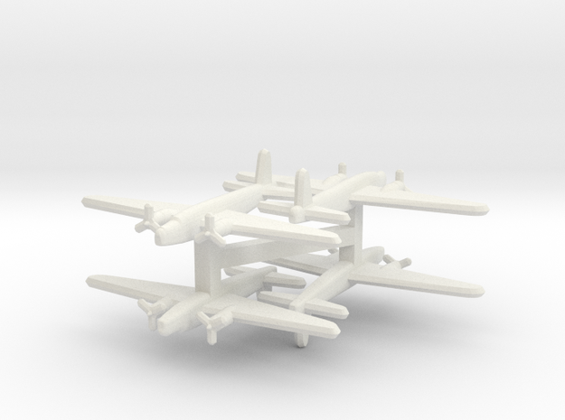 Vickers Wellington 1:900 x4 3d printed