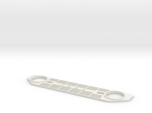 Deadbolt Grill FORD V3 in White Strong & Flexible