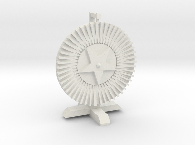 Wheel Of Chance in White Natural Versatile Plastic