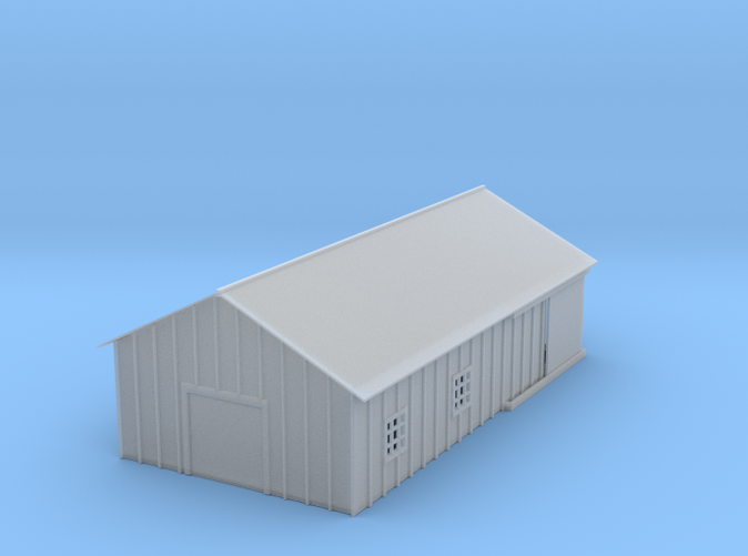 Clay Spur Wearhouse z scale
