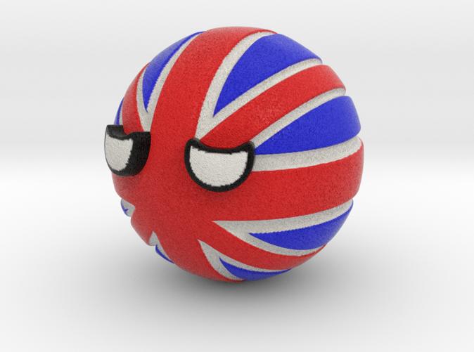Countryballs UK - Full Color Sandstone