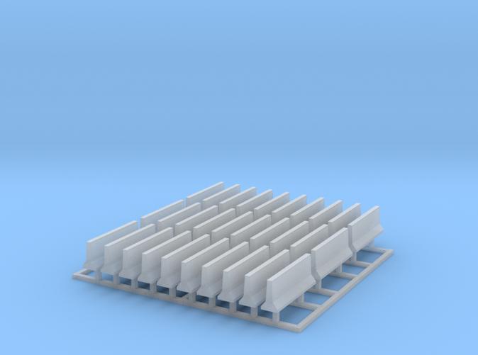 30 Concrete Barriers Z scale