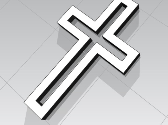 3D Rendering of the Cross