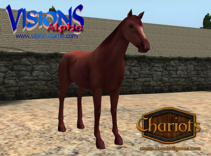 Strawberry Roan horse, or Red Roan