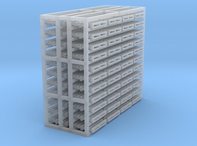 48 4X4 pallets Z scale