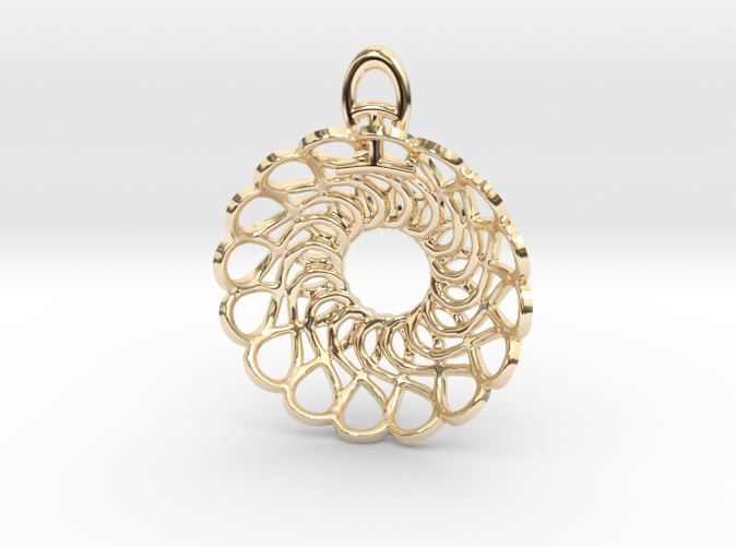 14k Gold Plated by Koogee Brown