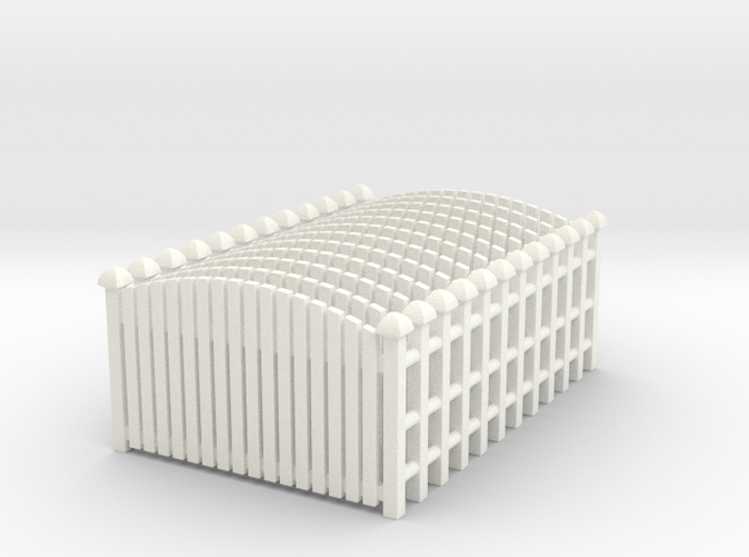 set of 12 fences in HO scale