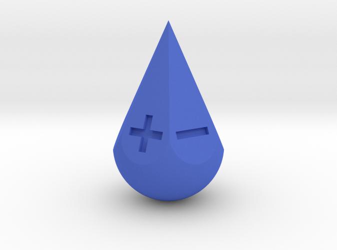 teardrop blue