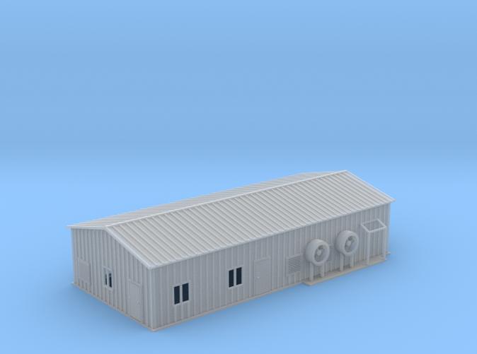 Propane Warehouse Z scale