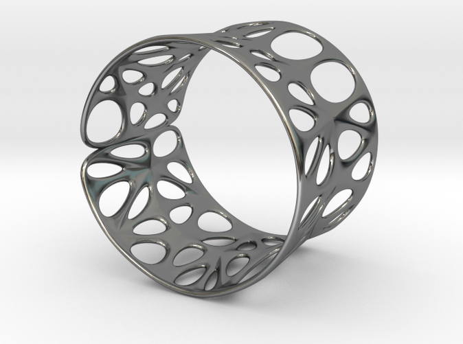 Catenoid Voronoi Bracelet