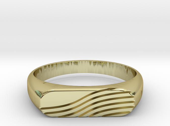 PROCIDA Ring in 18k Gold Plated