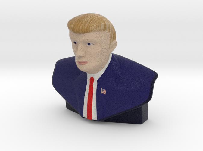 """The Donald"" Trump Stature - Small & Color"