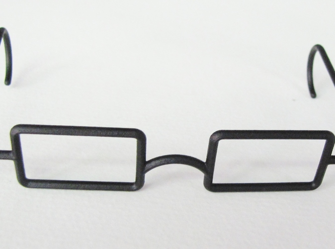 MRS GLASSES Metal BEASLEY EYEGLASSES--COPY OF ORIG
