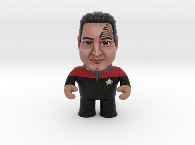 Chakotay Star Trek Caricature
