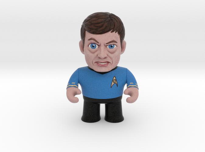 Dr. McCoy Star Trek Caricature