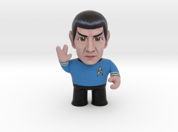 Spock Star Trek caricature