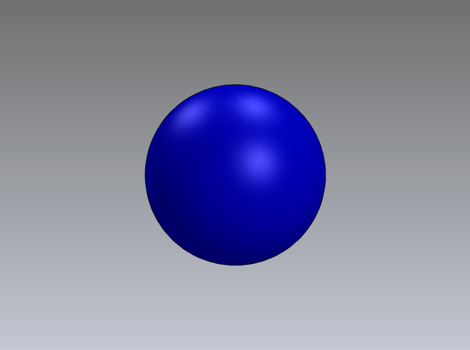 1in. buoyant ball in blue