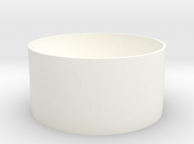 Basic cup in white. Always looks good.