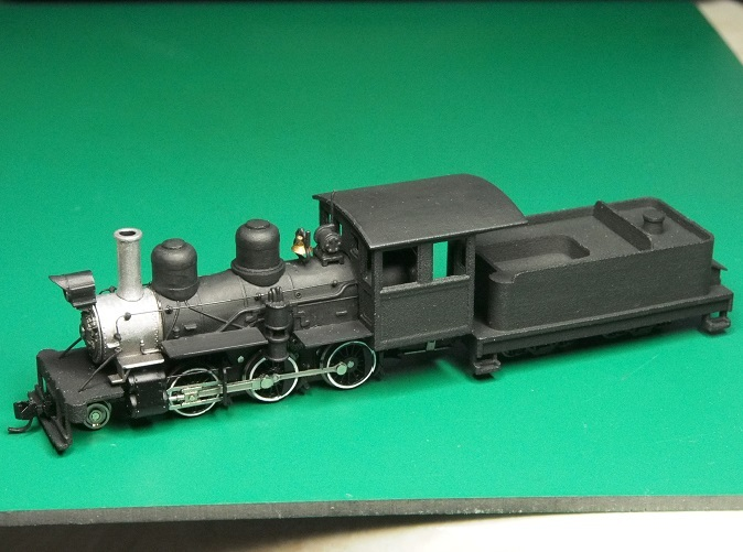The finished model.This was the prototype,some details may be different.