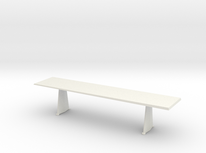 Trapeze Long Table - Jean Prouve