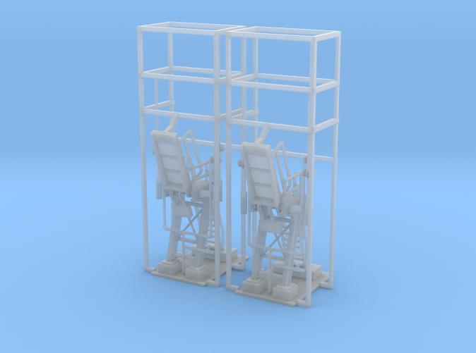 2 Propane loading stations