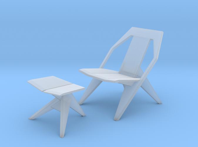 Medici Chair & Ottoman - Konstantin Grcic