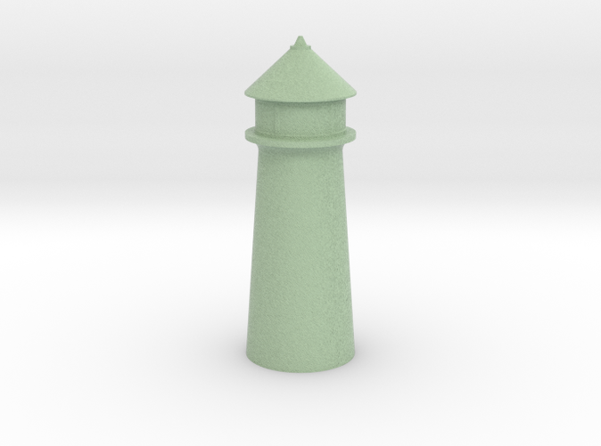 Lighthouse Pastel Green