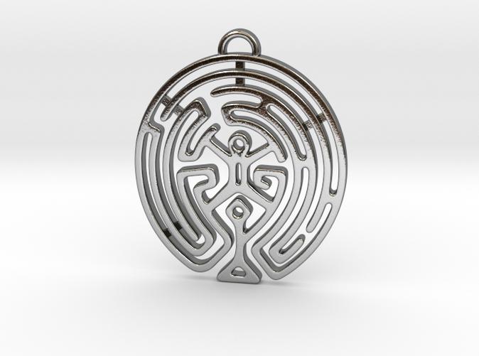 Westworld Maze Pendant