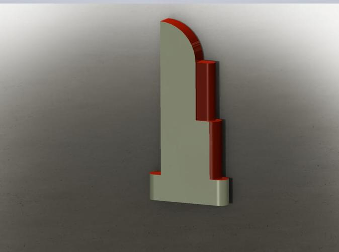 Here's a period paint job you can paint your metal Deco sign in. Just add lettering!