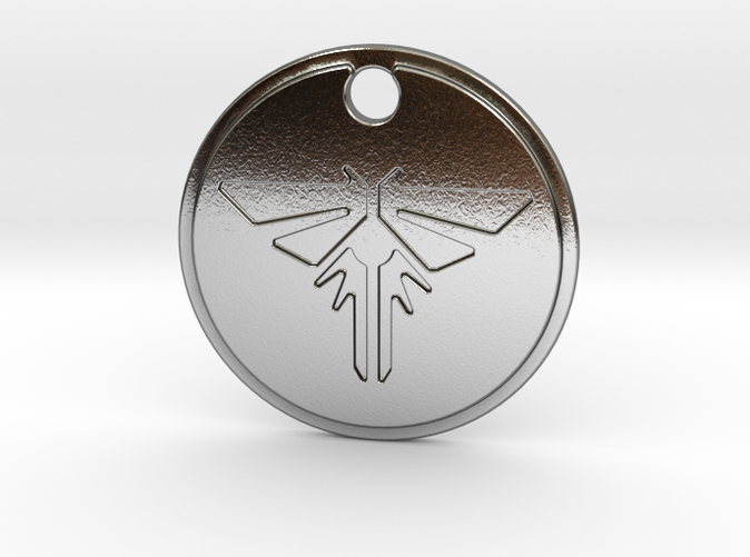 Firefly pendant s the last of us 5ellck2vw by 3dmagna pendentif pendant luciole firefly aloadofball Choice Image