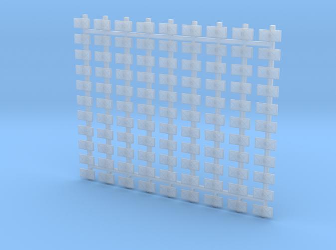 1/400 Scale RN WW2 Splinter Mattress x99