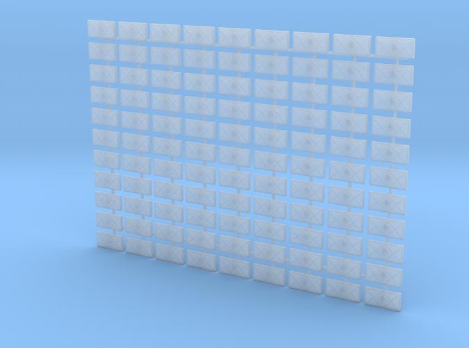 1/96 Scale RN WW2 Splinter Mattress x99