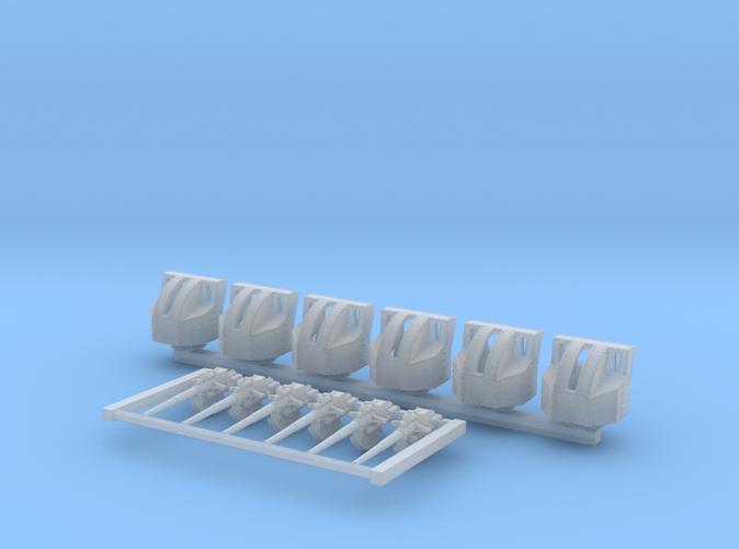1/700 4.7 Inch /40 (12cm) QF Mark VIII x6