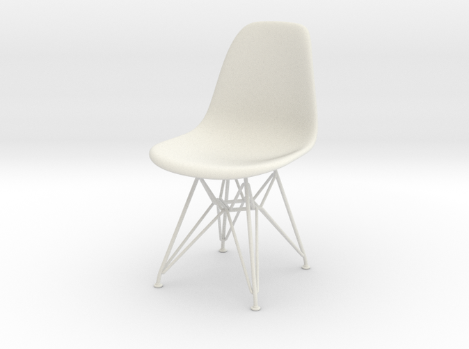 1:6 - Eames Plastic Chair DSW - Charles & Ray Eames