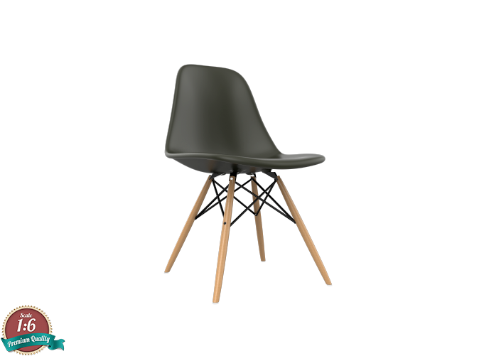 Astonishing 1 6 Miniature Eames Dsw Chair Charles Eames Ocoug Best Dining Table And Chair Ideas Images Ocougorg