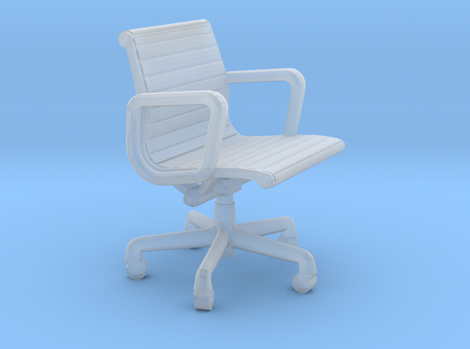 Miniature Eames Aluminium Group Management Chair