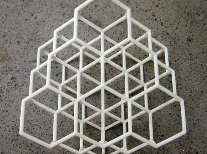 IRL, showing the 3 fold symmetry.