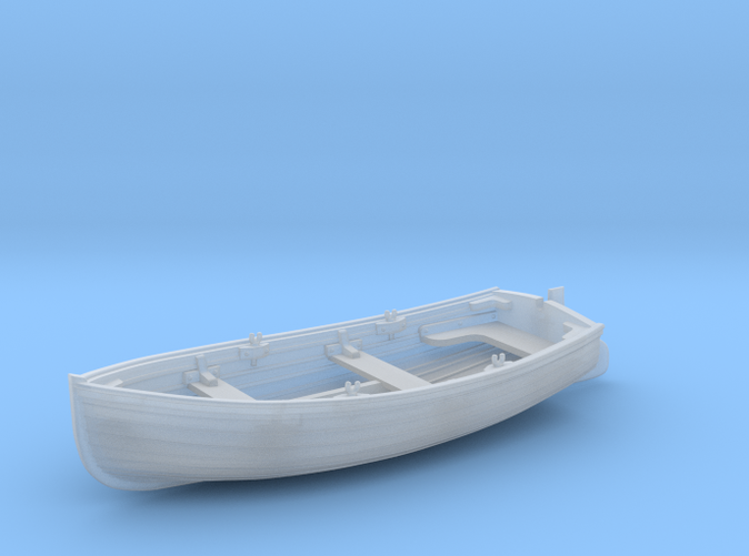 1/72 Scale Allied 10ft Dinghy with Rudder