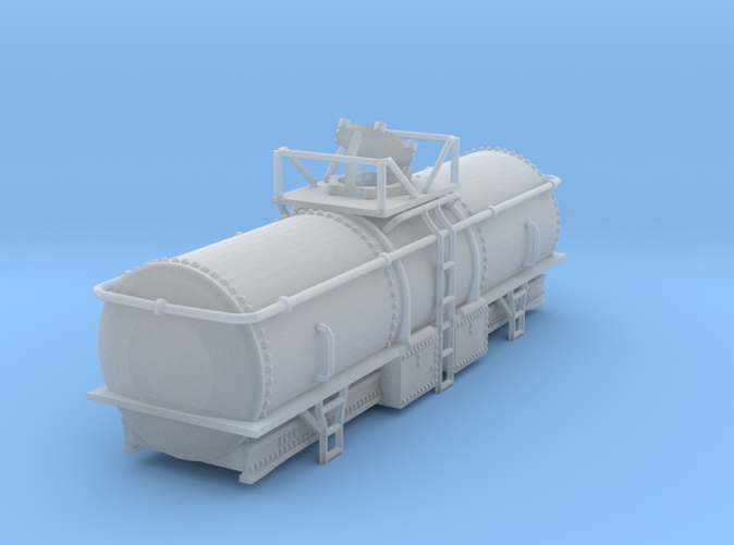 MOW Water Tank Car Z scale