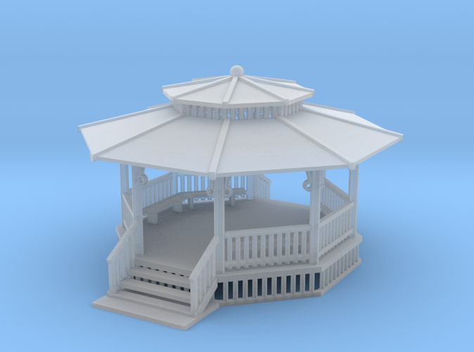 24 foot gazebo N scale